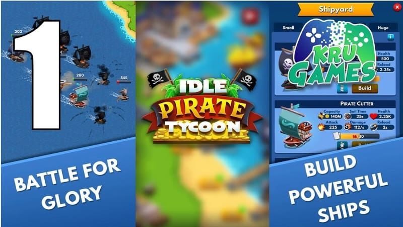 Idle Pirate Tycoon free gold