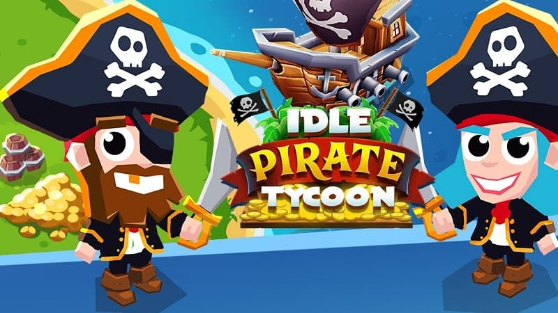 Idle Pirate Tycoon free cash